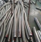 Aislante de tubo flexible acanalado del acero inoxidable