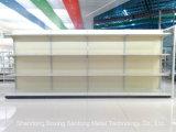 Hetzij Rekken van de Supermarkt van de Gondel van de Deklaag van het Poeder van de Tribune van de Vertoning van het Type van Rugplank Materiële