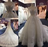 Los musulmanes de bola de manga larga y vestido de novia vestido de novia P0105