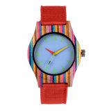 매력 승진 고품질은 목제 대나무 기술 상표 시계를 최신 판매한다