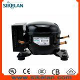 Mini compressor Hermetic Qdzh35g do Refrigeration do refrigerador R134A do congelador do carro da C.C. 12V 24V