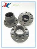 Te del grifo del PVC (F/F/F) - guarniciones del anillo de goma del PVC