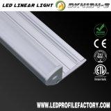 Perfil de aluminio de la protuberancia de 4134 LED para la iluminación de la escalera con RoHS