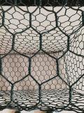 Pvc bedekte het Hexagonale Netwerk van de Draad, de Omheining van de Draad van de Hexuitdraai van pvc Cated met een laag