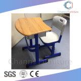 木のカーブ学校のプロジェクト(CAS-SD1836)についてのデスクトップ学生の家具