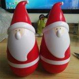 Tumbler Santa Claus подарка Xmas диктор 2017 Bluetooth Roly-Поли касающий миниый