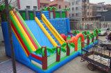 скольжение воды фабрики Inflatables высокого качества 11*7*6m коммерчески гигантское раздувное для взрослого