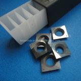 цементированный карбид реверсивных ножей и достижения оптимального качества реза (13,8 x13.8X2.5mm)