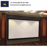 16: 9引き込み式の映画スクリーン、壁に取り付けられたプロジェクタースクリーン