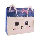 カスタム印刷のロゴの子供のためのかわいいギフトの包装紙袋