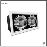 30W Square COB LED Downlight for Shopping Center