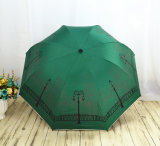 سوق قوس قزح لون [24ريبس] عصا مطر مظلة مظلة مصغّرة
