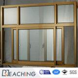 Qualitäts-modernes örtlich festgelegtes und schiebendes Aluminiumfenster
