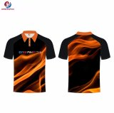 OEM Custom Dreamfox Polyester gros impression en sublimation Polo pour hommes
