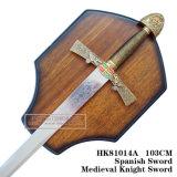 As espadas medievais da decoração das espadas da espada do leão 103cm