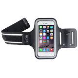 De Armband van de Fitness van de Sport van Lycra met het Regelbare en Transparante Scherm voor Mobiele Telefoon