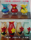 Стеклянный цветок ваза - 2