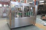La botella completa de la máquina de embotellamiento de agua mineral pura