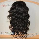 Seda médica de la parte superior delantera de encaje peluca la Mujer (PPG-L-01307)