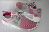 Chaussures de toile des enfants avec le modèle coloré