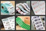 La impresión de etiquetas PVC transparente