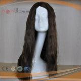 Longue perruque brésilienne de femmes de cheveu ondulé (PPG-l-0880)