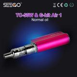 De g-Klap Air1 &Tc-50W van Seego de Nieuwste Super e-Sigaret Uitrusting van de Aanzet