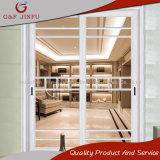 Раздвижная дверь профиля фабрики оптовая алюминиевая с Tempered стеклом