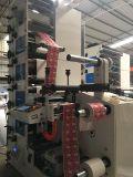 Stampatrice flessografica con la timbratura della stagnola