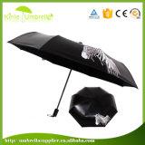 여자 우산을%s UV 보호 검정 젤 견주