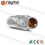 Conetor masculino impermeável de conetor de Pin 6 de Fischers S103A056 -130+