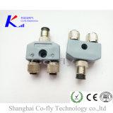 Мыжской Splitter электрического соединителя t RF женщины M12