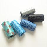 Sacchetti di plastica del cagnolino di Poop dello spreco del cane di animale domestico