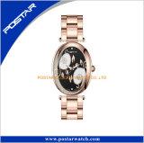 Cáscara de Huevo Color Relojes reloj de pulsera de diamantes de la mujer