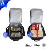 Ecoの友好的なお弁当箱の容器の熱バスケットボールによって印刷されるピクニッククーラー袋
