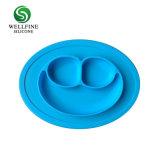 3 разделить типа силиконового герметика Smile Face малыша пластину