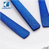 Commodément Portable poignée Bleue en acier inoxydable Ustensiles défini pour l'hôtel