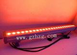 Mayorista de fábrica! Al aire libre de alta potencia 24X3W RGB LED impermeable Bañador de pared iluminación de exterior