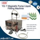 Máquina líquida de Fillling de la bomba magnética Semi-Auto de Youlian para farmacéutico (YG-1)