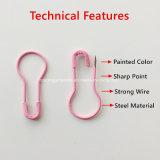 22mm bunter Brennkolben-Form-Sicherheits-MarkePin für Kleid