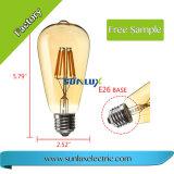 Lampe E27 220V Edison-LED steuern Heizfaden-Birnen-Licht des Dekor-40W automatisch an