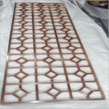 Dekoratives Innen- und Außenbildschirm-Panel-Laser-Schnitt-Metallpanel