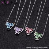 43460 Xuping reizend Großhandelsschmucksachen, Kristalle Swarovski von den fantastischen Halsketten-Schmucksachen