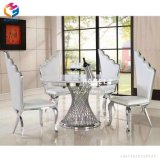 Diner l'or de meubles peignant autour de la table dinante Hly-St08
