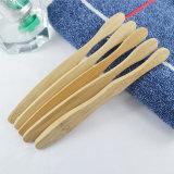 Madera de bambú natural biodegradable con DuPont cepillo de cerdas Tynex