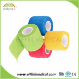 High quality Non Woven Cohesive Elastic of sport Self Adhesive bandage