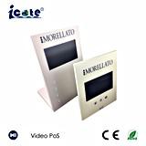 Videokarte/videogruß-Karte/video Visitenkarte-/videoeinladungs-Karte mit 7 Zoll LCD