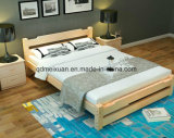 Кровати твердой деревянной кровати самомоднейшие двойные (M-X2307)