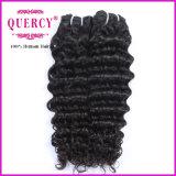 Emaranhado humano não processado de Extenson do cabelo de Remy do Virgin de 100% livre e nenhum derramamento