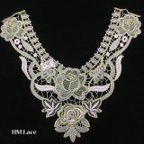 le lacet de Venise de fleur de tissu de 36*33cm cousant DIY vêtx le lacet Hme908 de collier de métier d'accessoires